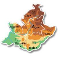dpts Provence Alpes Côte d'Azur