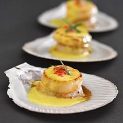 coquilles st jacques la sauce moutarde recettes et terroirs