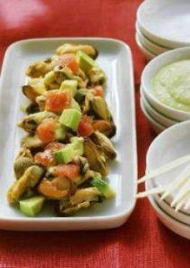 Recette Salade de moules par Pierre Marchesseau