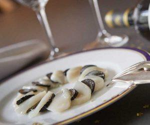 Recette Carpaccio de coquilles Saint-Jacques aux truffes