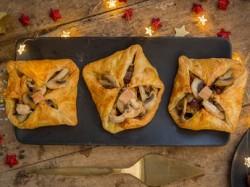 recette feuilletes de foie de volaille
