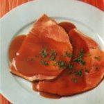 recette Jambon braisé à la sauce madère