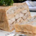 Terrine de ris de veau à la truffe au foie frais de canard