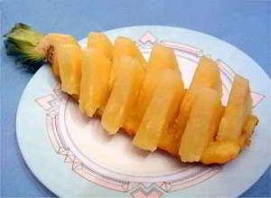 ananas en barquette