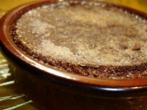 creme brule au chocolat