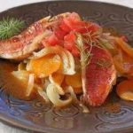escabeche de rouget au gingembre