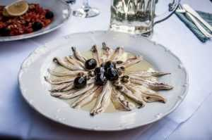 calories de l'anchois