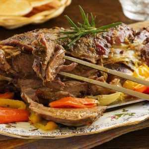 Recette Épaule d'Agnelle de Sisteron rôtie et ses aubergines grillées