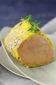 foie gras au micro-onde