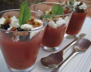 Recette Gelée de tomate au basilic et feta