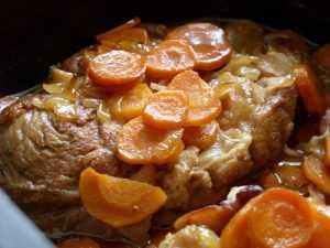 Recette Jarret de veau aux carottes et à l'estragon