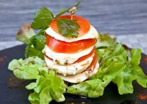 Recette Millefeuille de Tomates Mozzarella