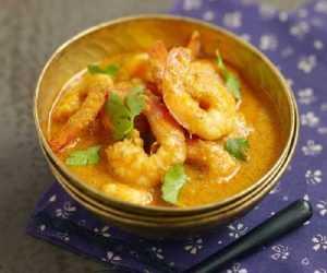 recette de crevettes au curry