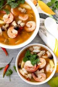 Recette soupe Tom Yam Kung
