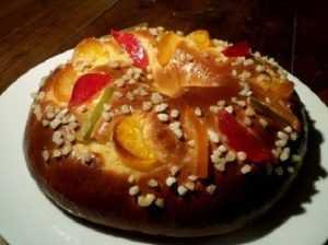 Recette brioche traditionnelle aux fruits confits