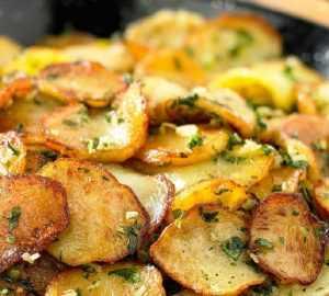 Recette pommes de terre salardaises (classic)