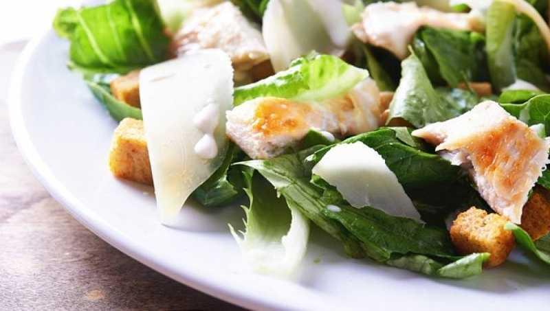 Recette salade César la vraie