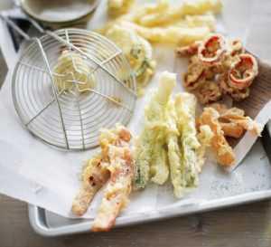Recette tempura de légumes frais