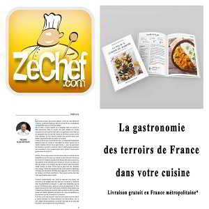 Zechef collection Livre de la Cuisine du marché
