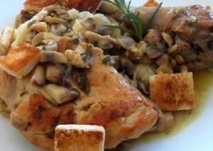 Recette poulet franchard
