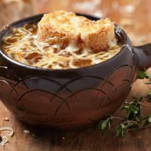 Recette soupe à l'oignon facile
