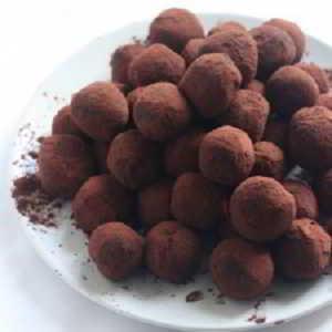 Recette de truffes au chocolat sans beurre