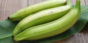 Calories dans la banane plantain