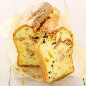 Recette Cake frais apéro aux oignons et lardons