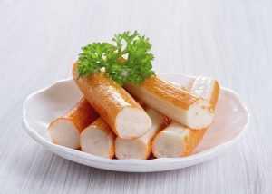 Calories dans le bâtonnet de crabe ou surimi