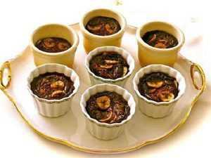 Recette clafoutis banane chocolat