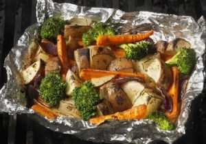 Recette Légumes en papillote pour barbecue