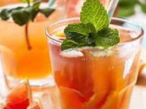 Recette Punch au thé