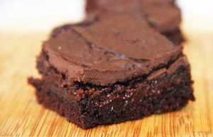 Recette brownies vegans