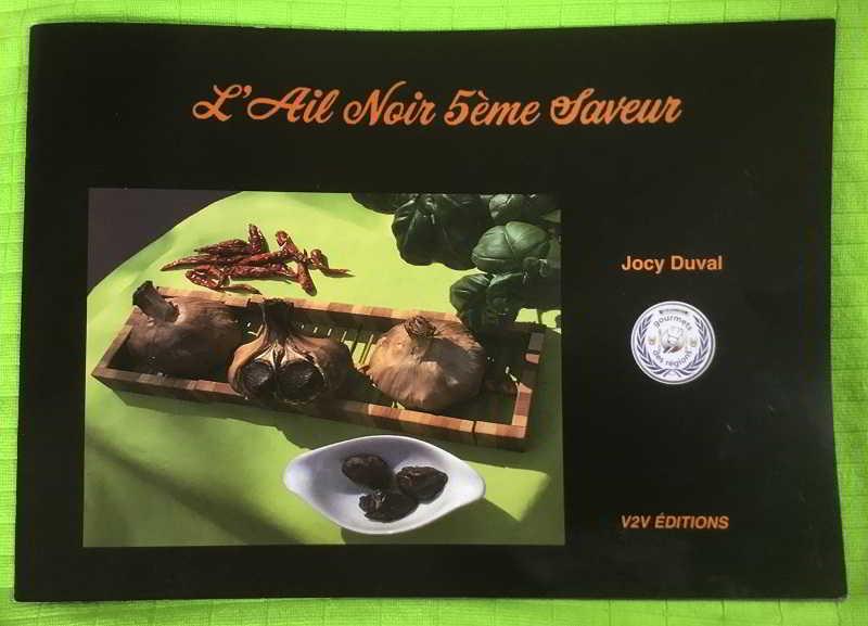 Livre Ail noir 5e saveur par Jocy Duval