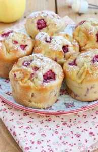 Recette Petits gâteaux à la ricotta et aux framboises