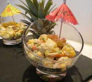 Recette Salade Hawaï