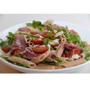 Recette Salade de penne au jambon cru