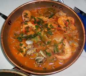 Recette Cataplana aux fruits de mer