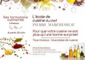 Cours cuisine Pierre Marchesseau, c'est reparti