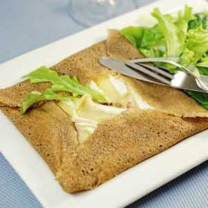 Recette Galettes de sarrasin au camembert