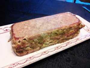 Recette Mousse de poireaux au jambon cru