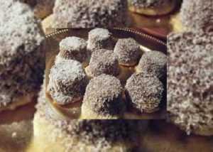 Recette Petits gâteaux au chocolat et à la noix de coco hyper facile