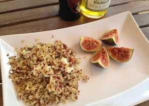 Recette Salade de quinoa aux figues et chèvre