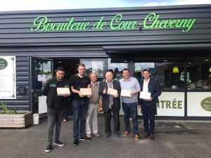 Visite de la biscuiterie de Chambord