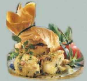 Recette Aumonière de fondue de légumes au carré frais