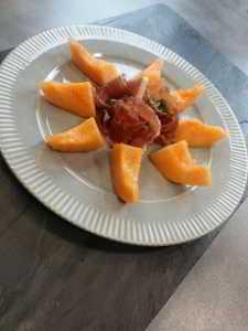 Recette assiette melon et jambon de parme - étape 9