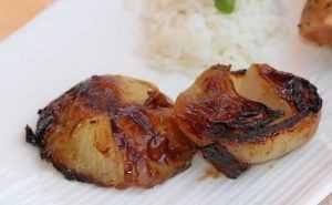 Recette Oignons braisés au barbecue