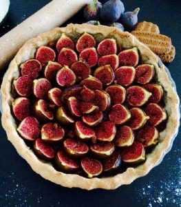 Recette tarte aux figues noires