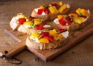 Recette Tartines au pain d'épices