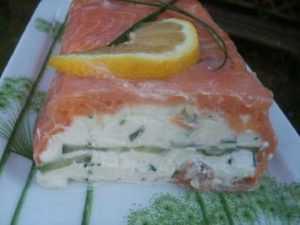 Recette Timbales de saumon au carré frais